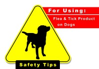 Safety Tips for Using Flea and Tick Products on Your Pets