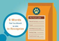 Interpreting Pet Food Lables