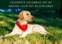 columbus day sales deals on pet supplies