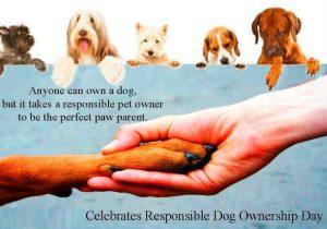 celebrates responsible dog ownership day