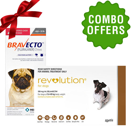 Bravecto + Revolution for Dog