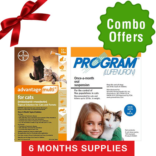 Advantage Multi & Program Oral Suspensio for Cats