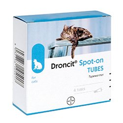 Droncit Spot On for Cats