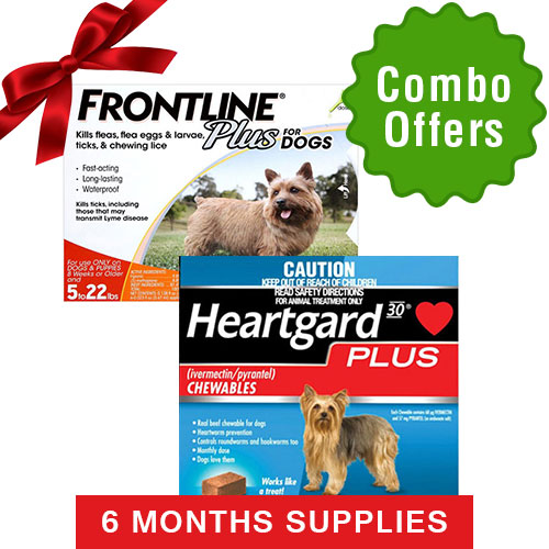 Frontline Plus & Heartgard Plus Combo Pa