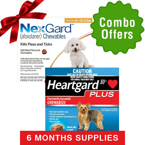 Nexgard  & Heartgard Plus Combo Pack for Dogs