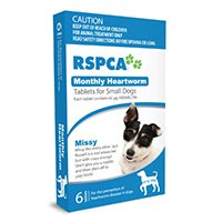 RSPCA Monthly Heartworm Tablets