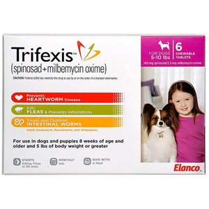 Trifexis Chewable Tablets for Dogs