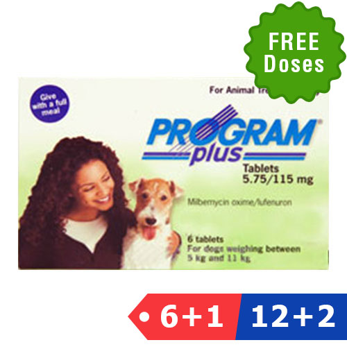Program Plus for Dogs 11 - 20lbs (Green)