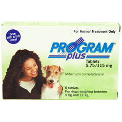 Program Plus for Dogs 11 - 20lbs  12 Tablet