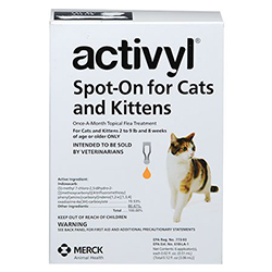 Activyl For Cats And Kittens 2 - 9 Lbs Orange 4 Pack