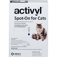 Activyl For Large Cats Over 9lbs Purple 4 Pack