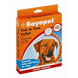 Bayopet Tick And Flea Collar For Medium And Large Dogs 1 Piece