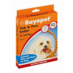Bayopet Tick and Flea Collar for Small Dogs and Puppies