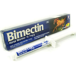 Bimectin Allwormer Paste Horse Wormer Paste 6.42 Gm 1 Syringe