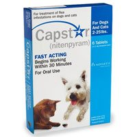 Capstar Blue for Cats and Small Dogs 2 - 25 lbs