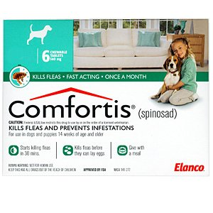 Comfortis-flea-treatment-in-california