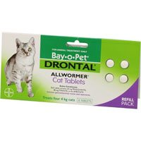 Drontal Cats upto 4Kg
