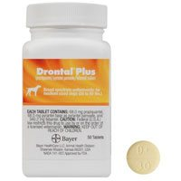 Drontal Plus For Very Small Dogs Upto 3kg 1 Tablet