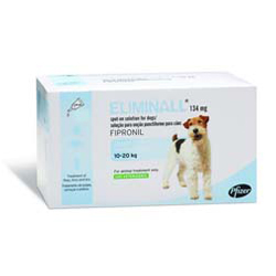 Eliminall Spot on for Dogs is a powerful and effective flea treatment providing lasting protection for up to 8 weeks. Buy Eliminall Spot On Flea Treatment for the treatment and prevention of fleas, ticks and lice infestations on Dogs at affordable prices with free shipping in USA.