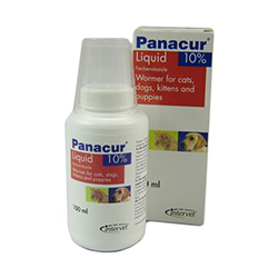 Image of Panacur Oral Suspension For Dogs And Cats 100 Ml