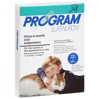 Program Oral Suspension 11-20 lbs Cats (Teal)