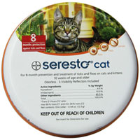 Seresto Collar for Cats of All Weights 38 Cms