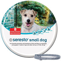 Seresto Collar For Small Dogs (upto 18 lbs) 15 inch (38 cm)