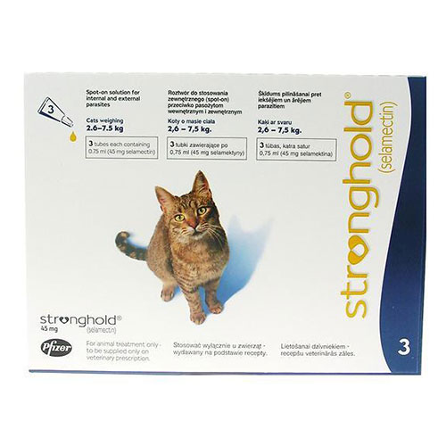 Stronghold  Cats Upto 7.5 Kg 45 mg