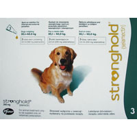 Stronghold  Dogs 20.1-40.0 Kg 240 mg (Green)