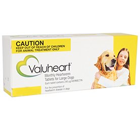 Valuheart For Large Dogs 45-88 lbs Gold