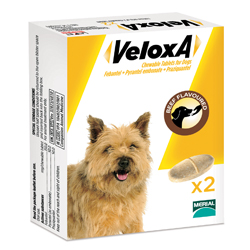 Veloxa Chewable Tablets  for Small/Medium Dogs up to 10 kg