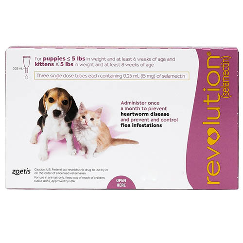 Revolution Kittens / Puppies Pink 3 Doses