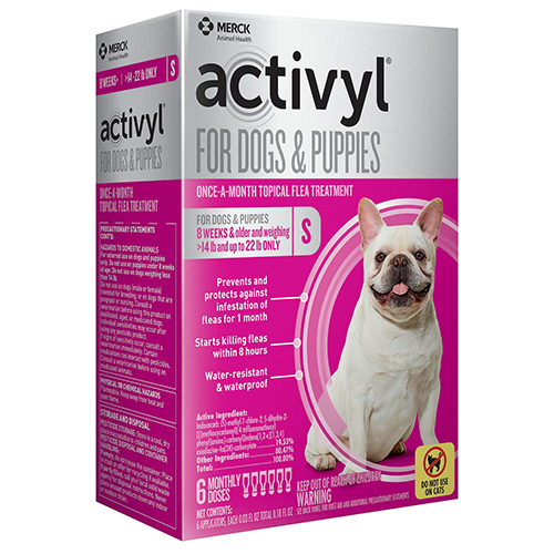 Best Vet Care coupon: Activyl For Small Dogs 14-22 Lbs Orange 4 Pack