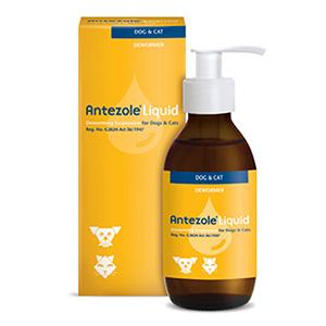 Antezole Liquid Suspension For Cats & Dogs 100 Ml