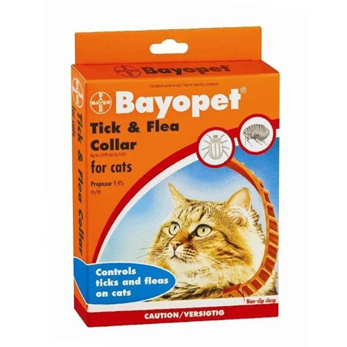 Bayopet Tick and Flea Collar cats for Cats