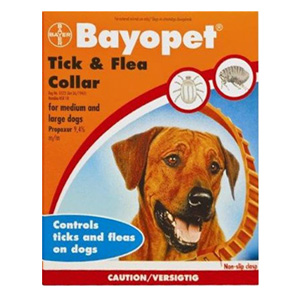 Best Vet Care coupon: Bayopet Tick And Flea Collar For Medium And Large Dogs 1 Piece