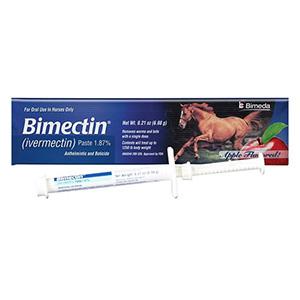 bestvetcare.com - Bimectin Allwormer Paste Horse Wormer Paste 6.42 Gm 1 Syringe 18.65 USD