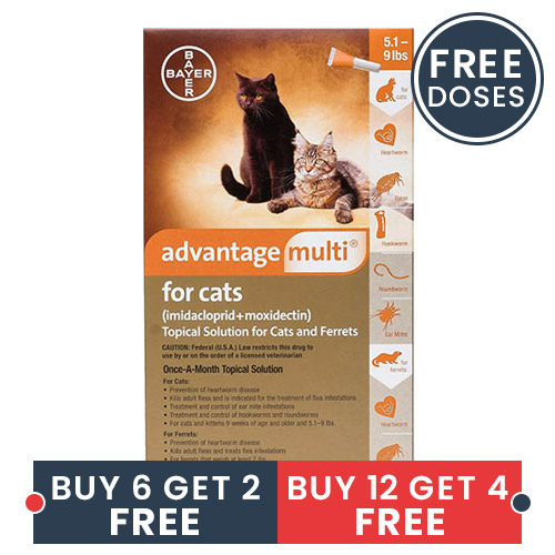 Advantage Multi (Advocate) for Cats