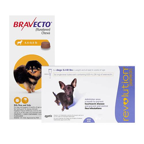 Bravecto + Revolution Combo Pack for Dogs