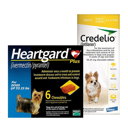 Credelio + Heartgard Plus Combo Pack for Dogs