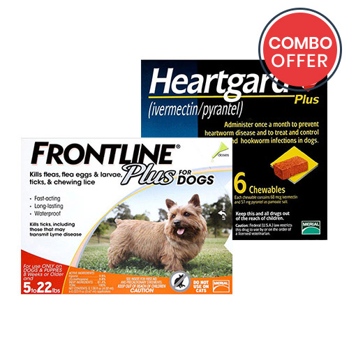 Frontline Plus & Heartgard Plus Combo Pa for Dogs