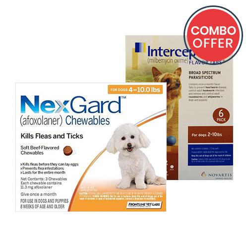 Nexgard & Interceptor Combo Pack for Dogs