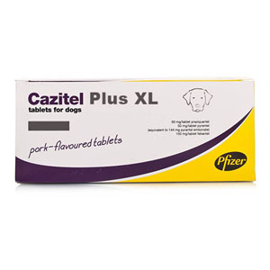 Cazitel Plus Xl For Large Dogs 4 Tablet