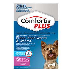 Comfortis Plus (Trifexis) Chewable Tablets for Dogs