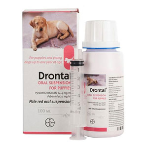Drontal Puppy Worming Suspension 50 Ml