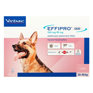 Best Vet Care coupon: Effipro Duo Spot-On For Large Dogs 45 To 88 Lbs. 4 Pack