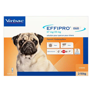 Best Vet Care coupon: Effipro Duo Spot-On For Small Dogs Up To 22 Lbs. 4 Pack