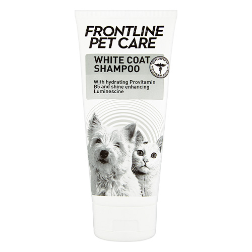 Frontline Pet Care White Coat Shampoo for Dogs