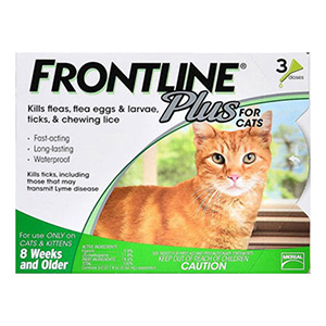 Frontline Plus Cats 3 Doses