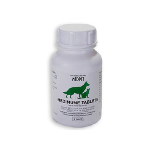 Medimune Tablets for Dogs and Cats for Supplements